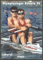 ac sui 1996 og atlanta photo of gier brothers winners of the ml2x event with signatures