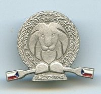 pin cze 1993 wrc racice sculling lion blades in national colours of cze