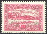 stamp yug 1932 sept. 2nd erc bled mi 245 8