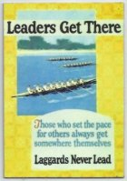 Poster GBR or USA Leaders Get There image on magnet
