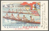 PC SUI 1912 ERC Geneva PU 1912 front with text refering to Swiss successes