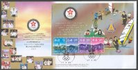 fdc hkg 1999 27th march ss asian games bangkok 1998 ii