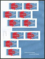 stamp can 2012 og london booklet 10 self adhesive stamps