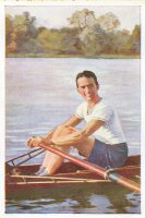 cc ger 1932 sanella handbuch des sports walter flinsch silver medal winner 4 at og los angeles
