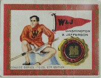 CC USA 1910 Murad Cigarettes College Series 1 25 Washington Jefferson