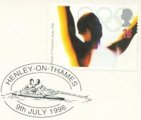 pm gbr 1996 july 9th henley on thames drawing of 2x