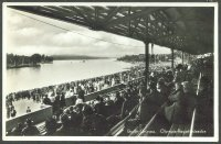 pc ger berlin gruenau 1936 olympic regatta course photo of view from the grandstand