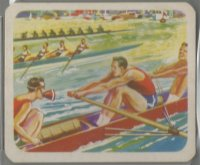 CC CAN 1949 CRACKER JACK W.M. LOWNEY Sport yesterday and today No. 22 Rowing and Sculling