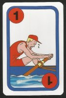 Card game AUT 1997 Oxford Cambridge Boat Race Oxford 1