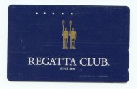 tc jpn regatta club since 1896 two golden rowers parading with oars on deep blue background