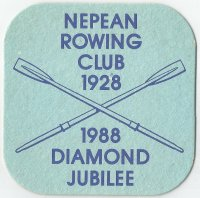 Beer mat AUS Nepean RC Penrith NSW II