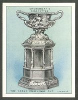 cc gbr 1927 churchman s cigarettes  sporting trophies  no. 9 the grand challenge cup
