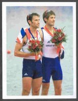 cc gbr 2008 og beijing medal winners sporting profiles card 19 zak purchase mark hunter lm2x gold medal winners