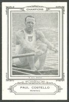 cc usa 1926 sports co of america paul castello gold medal winner at three consecutive og 1920 1928 in the 2x event
