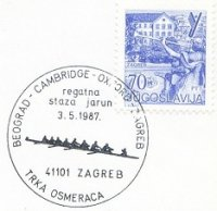 pm yug 1987 may 3rd zagreb regatna beograd cambridge oxford 8