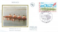 fdc mon 1988 may 26th 100 years societe des regates et societe nautiques 1888 1988 mi 1867