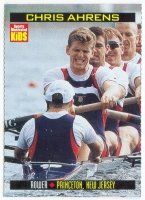 cc usa 2000 sports illustrated for kids no. 912 chris ahrens usa world champion 1995 m4 1997 1999 m8 olympic champion m8 2004