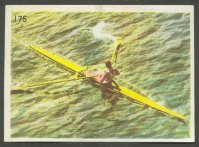 cc fra brasseries motte cordonnier no. 175 aviron  bird s eye view of single sculler
