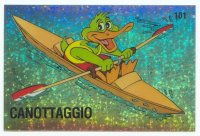 cc ita panini supersport no. 101 green duck in single scull