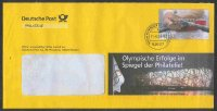 stationary i ger 2008 deutsche post philatelie og beijing   olympische erfolge   with pm weiden june 11th