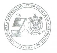 pm esp 1999 club de mar de castropol 50th anniversary 1949 1999