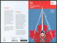 stamp can 2012 og london booklet cover pages