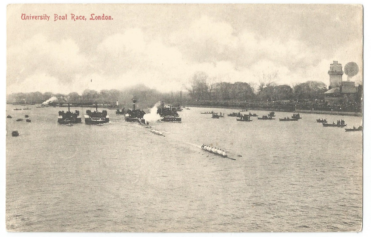 PC GBR undated University Boat Race London front